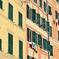 facades in Camogli by Antonio Scarpi