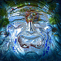 Face In Glass by David Lee Thompson