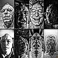 Faces by Ron Bissett