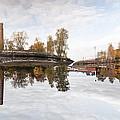 Factory In Helsinki by Pedro Nunez