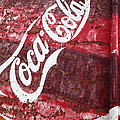 Faded Coca Cola Mural 2 by James Brunker