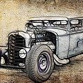 Faded Ford Coupe by Steve McKinzie