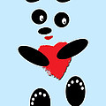 Fading Like A Flower. Panda In Love. 02 by Ausra Huntington nee Paulauskaite