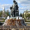 Fairbanks Statue by Lew Davis