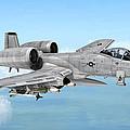 Fairchild A-10 Thunderbolt by Walter Colvin
