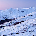 Fairfield Covered In Snow At Sunset by Ashley Cooper