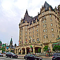 Fairmount Chateau Laurier East Of Parliament Hill In Ottawa-on by Ruth Hager