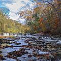 Fairmount Park - Wissahickon Creek In Autumn by Bill Cannon