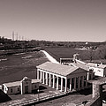 Fairmount Waterworks And Dam In Sepia by Bill Cannon