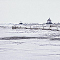 Fairport Harbor Lighthouse by Jack R Perry