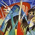 Fairy Animals 1913 by Franz Marc