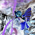 Fairy In The Woods Surreal by Linda Rae Cuthbertson
