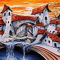 Fairy Tale City - Magic Stream by Emerico Imre Toth