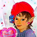 Fairy Valentine by Teresa Ascone
