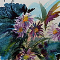 Fairyland Asters by Beverley Harper Tinsley