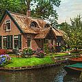 Fairytale House. Giethoorn. Venice Of The North by Jenny Rainbow