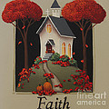 Faith Country Church by Catherine Holman