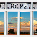 Faith  Hope Love Nature Window View by James BO  Insogna