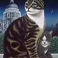 Faith, The St. Paul's Cat by Frances Broomfield