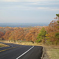 Fall Along The Country Highway 2 by Michael MacGregor