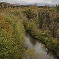 Fall Along The Creek by Lorraine Harrington
