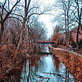Fall Along The Delaware Canal by Bill Cannon