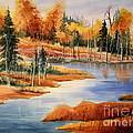 Fall At Elk Island  by Mohamed Hirji