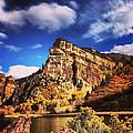 Fall At Hanging Lake Colorado by Tory Stoffregen