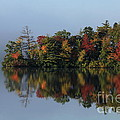 Fall At Heart Pond by Kenny Glotfelty
