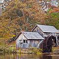 Fall At Mabry Mill by Linda Grant