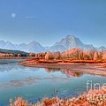 Fall At Oxbow Bend by Kathleen Struckle