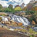 Fall At Reedy River by Elvis Vaughn