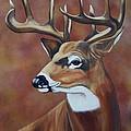 Fall Buck by Debbie LaFrance