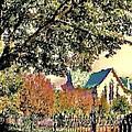 Fall Church by Diana Chason