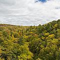 Fall Color Hills Mi 1 by John Brueske