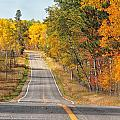 Fall Color Tour Mn Highway 1 2878 by Marie Fierek