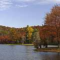 Fall Colors At Sherando Lake by Lynn Bauer