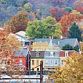 Fall Colors In Columbia Pennsylvania by Beth Sawickie