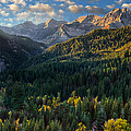 Fall Colors On Mt. Timpanogos by Douglas Pulsipher