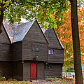 Fall Colors Over Saugus Iron Works by Jeff Folger