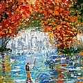 Fall Fishing by Karen Tarlton