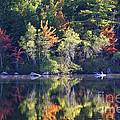 Fall Fishing by Laura Mace Rand