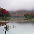 Fall Foliage Reflections In Northern Vermont by John Vose