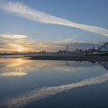 Fall Sunset by Bruce Frye