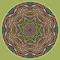Fall Grass Mandala by Beth Sawickie