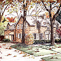 Fall Home Portriat by Mary Palmer