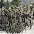 Fall In Norfolk Volunteers by Frank Gillett