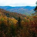 Fall In The Blue Ridge Mountains by Carol Montoya