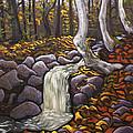 Fall Leaving by Alison Barrett Kent