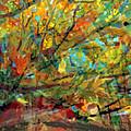 Fall Looking Up by David Briscoe